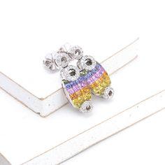 Amelia Rainbow Sapphire & Diamond Earrings by Equalli