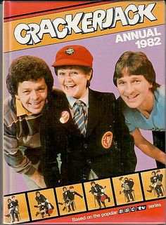 Crackerjack Annual 1982 Cover: The Krankies with presenter Stu Francis. This popular British kids TV show ran from 1955 until December 1984 on During the the show was presented by Stu. 1980s Childhood, My Childhood Memories, Great Memories, 1980s Tv Shows, Kids Tv Shows, Cracker Jacks, The Ateam, Old Shows, 80s Kids