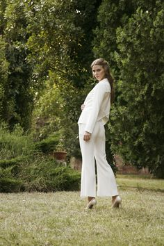 """White shadows for a classy #mood. Meet """"The Suit"""" by Compagnia Italiana."""