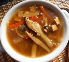 Slow Cooker Hot and Sour Soup - Magic Skillet