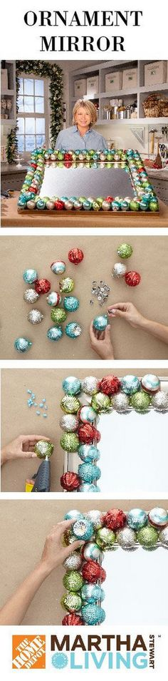 20+ Homemade Christmas Decoration Ideas & Tutorials