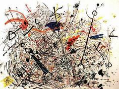 Untitled 1946 By Jackson Pollock - Oil Paintings & Art Reproductions - Reproduction Gallery Photo To Oil Painting, Action Painting, Drip Painting, Jackson Pollock Art, Abstract Canvas Art, Abstract Paintings, Oil Paintings, Pollock Paintings, Jackson's Art