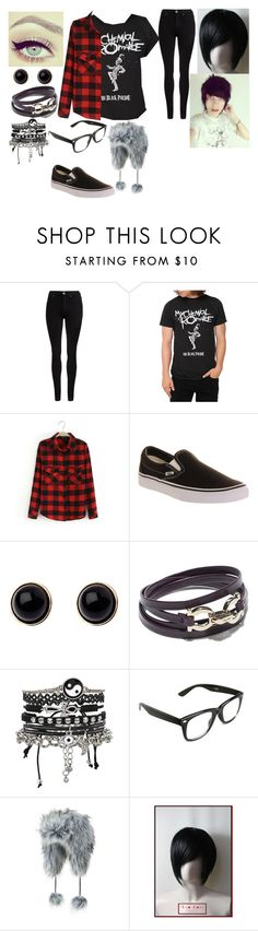 """""""Gender Swap: Johnnie Guilbert"""" by its-me-barbs ❤ liked on Polyvore featuring Dr. Denim, Vans, Adele Marie, Salvatore Ferragamo and ASOS"""