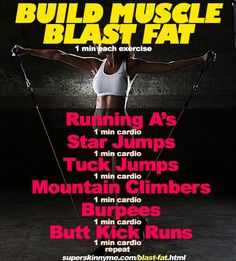 Seriously awesome fat-blasting Total Body Workout!