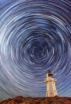 Pencarrow Lighthouse ©Paul Rondel Lodge Wedding, Wedding Venues, Star Trails, Great Shots, Lighthouse, New Zealand, Wedding Places, Bell Rock Lighthouse, Lighthouses