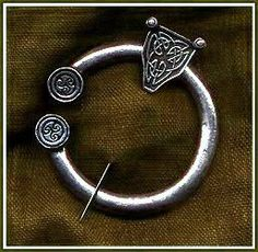 """Medium Celtic Pewter Brooch 2"""" diameter. by Pins and Brooches. $26.00. Excellent for a period look for Renaissance, Victorian, Gothic or Edwardian as well as most other periods and modern interpretations. Great finishing touch for Renaissance, Medieval, Cavalier, Regency, Elizabethan, Colonial, Georgian, English Civil War, American Revolutionary War Cloaks, Capes, Coats or Sweaters for all periods.. Pewter Brooch 2 inches across with antiqued Celtic designing.. P..."""