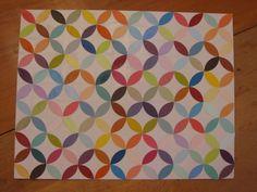 paint chip paper quilt