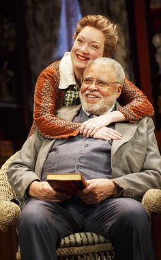 You Can't Take It With You - Show Photos - 9/14 - Kristine Nielsen - James Earl Jones