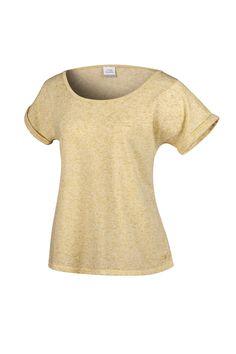 RAINHA PRILLA F - blusa em malha com gola ampla e acabamento em viés, costuras em trançador, barra das mangas dobradas e comprimento maior nas costas.