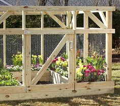 Ana White | Build a Garden Enclosure - Built by Home Depot Garden Club | Free and Easy DIY Project and Furniture Plans