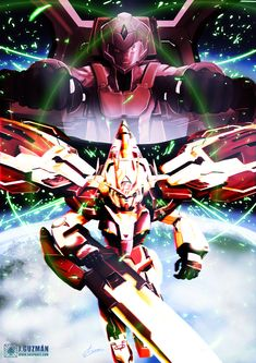 00 Raiser Trans-am Variant by Z3ros.deviantart.com on @DeviantArt