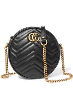 2bb9a5497 Gucci   GG Marmont Circle quilted leather shoulder bag   NET-A-PORTER.