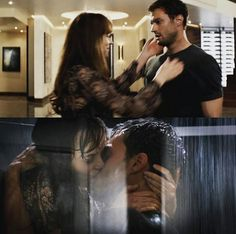 After Charlie tango crash / Christian Grey / Anastasia Steele