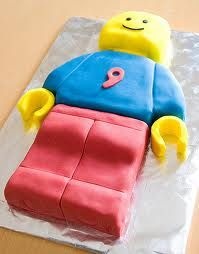 lego man cake - Google Search