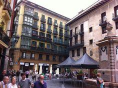 PLAZA DE SANTIAGO.- Casco Viejo.- Bilbao.