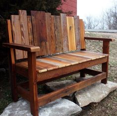 Rustic Wood Outdoor Furniture vintage oak small garden bench as inspiring rustic patio seating
