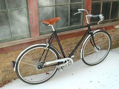 Custom Roadster Bicycle, Remodelista