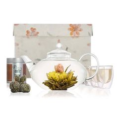 Imperial Blooming Tea Set from notonthehighstreet.com