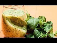Smoothie cu spanac, banană și semințe de chia - YouTube Smothie, Pear, Cabbage, Fruit, Vegetables, Youtube, Food, Banana, Meal