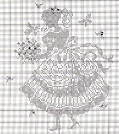 Cross Stitch Free chart クロスステッチフリーチャート: mode