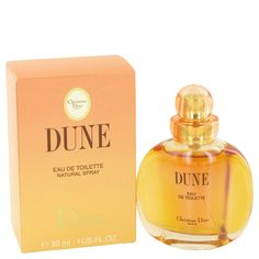 Dune By Christian Dior Eau De Toilette Spray 1 Oz - Launched by the design house of Christian Dior in 1991 DUNE is classified as a refreshing oriental woody fragrance. This feminine scent possesses a blend of amber wallflower as well as watery notes of the fresh cool sea air. It is recommended for daytime wear. Designed For Women