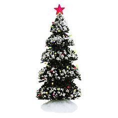 St. Nicholas Square® Village Town Center Light-Up Tree