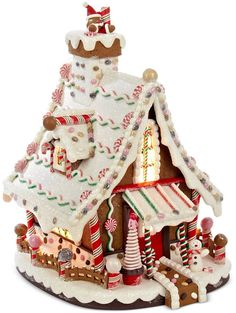 Kurt Adler Lighted Gingerbread House | SSC Affiliate