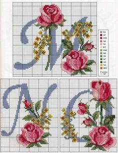 Ponto Cruz: ABC com Rosas