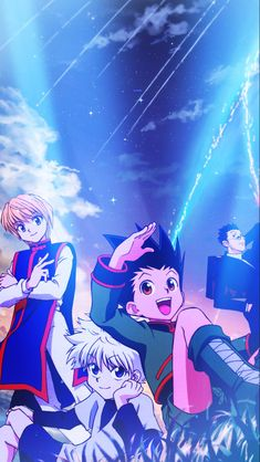 {Hunter x Hunter} - Gon - Kirua - Kurapika - Leorio - Me Anime, Fanarts Anime, Anime Films, Manga Anime, Anime Art, Cool Anime Wallpapers, Cute Anime Wallpaper, Animes Wallpapers, Killua