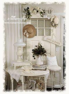A Gathering Place: ~REPURPOSING FABULOUS VINTAGE DOORS~