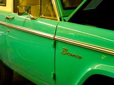 The Ford Bronco is a sport utility vehicle that was produced from 1966 to 1996, with five distinct generations. B
