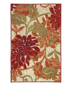 Take a look at this Mohawk Home Canberra Warm Rug by Color Trend: Orange on #zulily today!