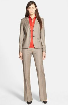 BOSS HUGO BOSS Jacket, Trousers & Blouse  available at #Nordstrom