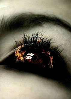 """Elizabeth replied, """"Their eyes turn black with nothing spared. There is no mistaking it."""" - Fire Nectar, a Vampire Suspense Book Series Story Inspiration, Writing Inspiration, Character Inspiration, Dark Fantasy, Fantasy Art, Maquillage Halloween, Fire And Ice, Eye Art, Cool Eyes"""