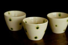cups from Chidori, Tokyo