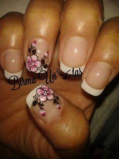 Rosa Fashion Beauty, Beauty Style, Spring Nails, Manicure, Nail Designs, Pink, Classy Nails, Polish Nails, Decorations
