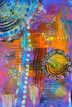 abstract art by kat gottke