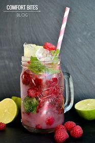 Virgin Raspberry Mojito - vegan gluten free paleo clean eating aip