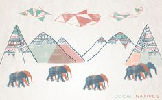 Local Natives Print Uncovet