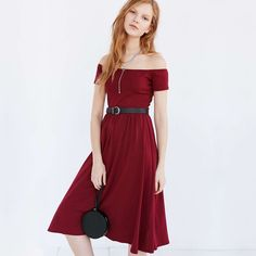 9879dc9d12 Witsources Off Shoulder Dress Women Slash Neck High Waisted A line Short  Sleeve Midi Sexy Dresses SD3026-in Dresses from Women s Clothing    Accessories on ...