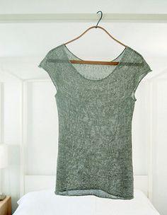 Silken Straw Summer Sweater pattern by Purl Soho FREE