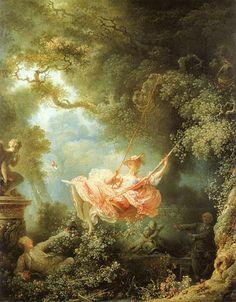 Jean-Honore Fragonard The Swing art painting for sale; Shop your favorite Jean-Honore Fragonard The Swing painting on canvas or frame at discount price. Rococo Painting, Swing Painting, Painting Art, Painting Flowers, Painting Videos, Jean Honore Fragonard, Renaissance Kunst, Renaissance Dresses, Illustration Art