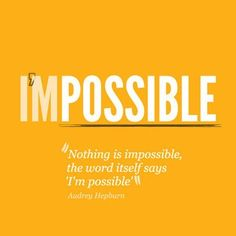 Nothing is impossible. The word itself says I'm Possible. #ownyourmark #tribesports #jointhetribe #challengeyourself  #fitness #motivation #fitspo #inspiration