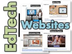 EdTech Websites by Category   This resource contains a collection of educational technology websites divided into categories  I have successfully utilized all of these amazing websites with my classes to enhance learning  Links to lessons for how to use each of the websites are located at the bottom of each of the slides  TOPICS  Presentations (Prezi Haiku Deck)  Multi-Media Posters (Glogster)  Blogs (Kidblog)  Mind Maps (Popplet Slatebox)  Online Response System (Kahoot)  Comics (Bitstrips…
