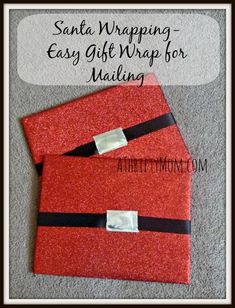 Santa wrapping-Easy