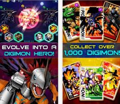 Digimon Heroes!  I Digimon in stile match-3