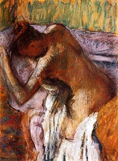 Edgar Degas - circa 1900-1910: I have this print in my athroom :)