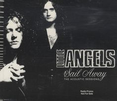 """For Sale - Little Angels Sail Away The Acoustic Sessions UK Promo  CD single (CD5 / 5"""") - See this and 250,000 other rare & vintage vinyl records, singles, LPs & CDs at http://eil.com"""