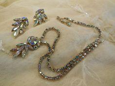 Vintage Sherman Drop Marquise Cut Aurora by SilentWhisperVintage, $175.00