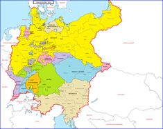 Triple Alliance, Albanian People, German Confederation, Empire, Alternate History, Fantasy Map, Historical Maps, History Museum, Austria